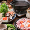 料理メニュー写真【播州百日鶏】鶏鍋