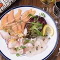 料理メニュー写真新鮮魚介のカルパッチョ盛り