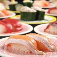 絶品お寿司は100円(税抜)~♪