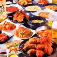 韓国出身のオーナーが手掛ける絶品韓国料理の数々!当店名物のキンパや、ヤンニョムチキンの他に新メニューチヂミなどご堪能頂けます!韓国好きの女子会やデート、仲間内の飲み会など幅広いシーンに使い勝手抜群です!