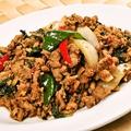 料理メニュー写真パッガパオガイ(鶏肉のガパオ/鶏肉・豚肉・牛肉)