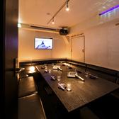 【チーズミート Tivoli ティボリ   カラオケ個室席】8名様~ご利用可能なカラオケ個室席となっております。宴会がさらに盛り上がること間違いありません!
