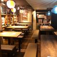20~24名様でのお集まりに☆人数が多めの飲み会でもご案内できるお席をご用意しています!沖縄の雰囲気を感じられる居心地良い空間でワイワイ楽しいひと時をお過ごし下さい♪