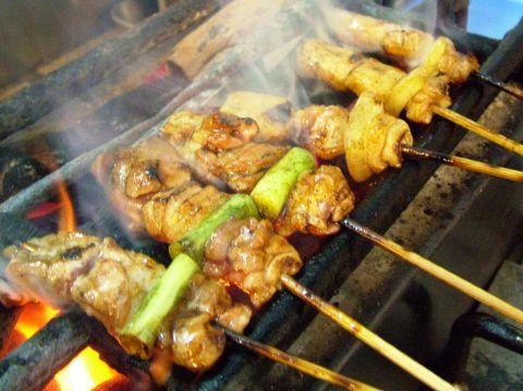 焼鳥一筋60年。JR大阪・阪急梅田駅より徒歩1分。食べなわからんこだわりの味。