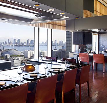 鉄板焼 天王洲 第一ホテル東京シーフォートの雰囲気1