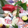 料理メニュー写真鮮魚の刺身盛り合わせ 1人前※2人前より