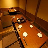 ◆2名様~最大20名様の会食席をご用意・貸切も可能!