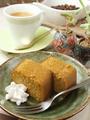 料理メニュー写真黒糖のカステラ