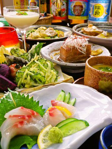 那覇出身オーナーがつくる【沖縄料理】の専門店♪本場の味をお楽しみいただけます♪