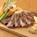 料理メニュー写真黒毛和牛肉のタリアータ