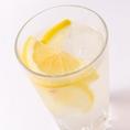 レモンたっぷりレモンサワー☆