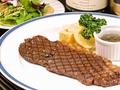 料理メニュー写真国産牛サーロインステーキ(150g)