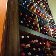 『常時250種!』豊富なワイン☆