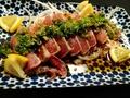 料理メニュー写真薩摩知覧鶏もも肉タタキ
