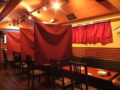 船内DINING CROSS 新宿の雰囲気1