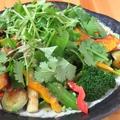 料理メニュー写真旬野菜たっぷりサラダ
