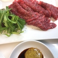 料理メニュー写真赤身の王者カイノミ