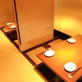 4名様用のお席は他のお客様ときっちり区切られたお席です。個人のスペースを確保。ちいさなお席なら利用もしやすくお手軽です。横浜でのお買い物帰りなどお立ち寄りください。鳥どりなら女性も楽しめる居酒屋宴会をご提供!女子会などのご宴会予約もお待ちしております!横浜でのご宴会は、当店にお任せ下さい!