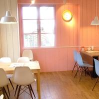 居心地の良い北欧カフェ