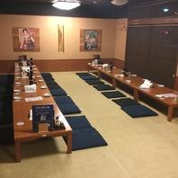最大宴会60名様★ゆったり宴会部屋ございます。