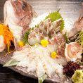 【10大特典】鮮魚の姿盛りサービス♪