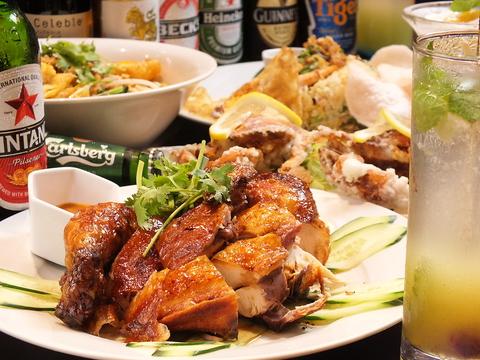 本場シェフによるアジアの名作マレーシア料理