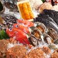 メニューにない北海道の海産物もお時間を頂ければご用意可能でございます。ご予約の際にお気軽にご要望をお伝えくださいませ。※季節によりご用意できない食材がある場合がございます。