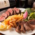 料理メニュー写真MONPAL肉2種盛り ~牛ハラミ&牛タン~