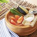 料理メニュー写真冷やし野菜のスティックサラダ