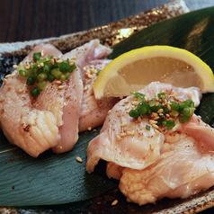 料理メニュー写真名古屋コーチンMIX焼き (塩ダレor味噌)