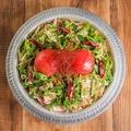 料理メニュー写真しびれ担々トマト鍋