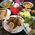 料理メニュー写真宴会コース一例