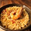 料理メニュー写真生米から作るパエリア