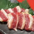 料理メニュー写真馬刺 フタエゴ(ばら)