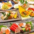 《食材にこだわった》県内産と旬にこだわった食材を存分にお愉しみ頂けます。