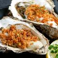 料理メニュー写真活牡蠣の香草バター焼き