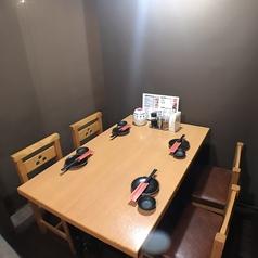 テーブル個室4名×1【歓送迎会/宴会/貸切/個室/コンパ/】