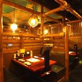 テーブル席は雰囲気が良い空間となっております!テーブル席でも様々なシーンでお楽しみ頂けますので、ごゆっくりお過ごしくださいませ★大宮にお越しの際は【北の味紀行と地酒 北海道】へ♪(大宮/居酒屋/宴会/個室/食べ放題/飲み放題/接待/和食/日本酒/蟹)