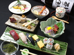 鮨 笹屋のコース写真