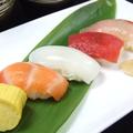 料理メニュー写真寿司5貫盛り