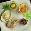料理メニュー写真本日のおまかせ季節の五種盛り