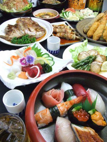 """""""たぶん日本一短い廻る寿司""""でお馴染みの寿司・一品料理のお店、うをさ★"""