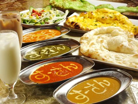 にぎやかな店内で美味しいインド料理を召し上がれ★