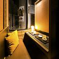 リゾート個室♪都会の喧騒を忘れ去り、上質な空間でのおもてなし。女子会や合コンなどにもぴったりです。新宿での宴会は当店にお任せください。