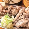 料理メニュー写真奥三河鶏 2種盛り