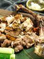 料理メニュー写真鶏もも肉豪快炭焼き