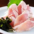 料理メニュー写真鳥ササミ刺