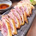 料理メニュー写真百日鶏のたたき