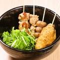 料理メニュー写真~おまかせコース~串焼き