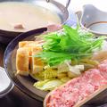 料理メニュー写真本場白濁スープの水炊き鍋